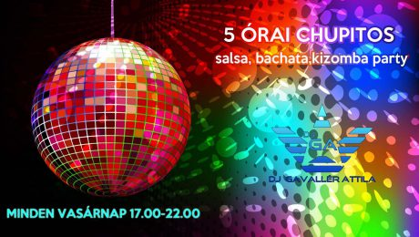 Chili Salsa Tánciskola 5 órai Chupitos Táncparty